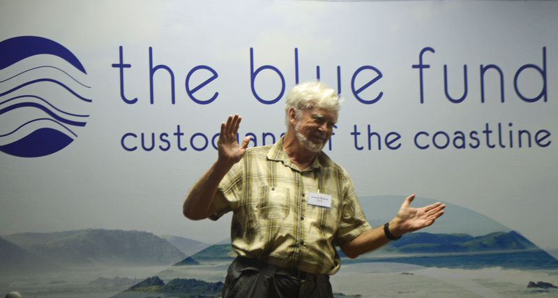Professor George Branch addresses scientists and students at the recent Ocean Stewards Science Session at the University of KwaZulu-Natal. <b>Photo</b> Fred Kockott.