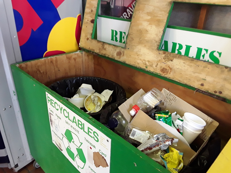 Poor recycling practices are creating contaminated waste that can't be sorted for recycling.