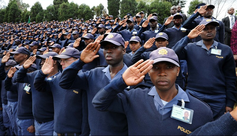 "Most South African police officers view their job as primarily just that - a job and a means to survive. <b>Photo</b> <a href=""https://www.flickr.com/photos/governmentza/20590391943"" target=""_blank"" style=""font-weight: normal;"">GovernmentZA via Flickr</a>."