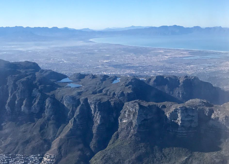 Aerial view of Cape Town. Archive photo: Brent Meersman.
