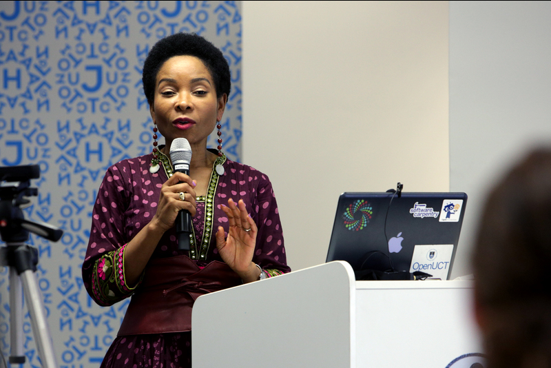 DVC Prof Mamokgethi Phakeng introduces ZivaHub – UCT's new institutional data repository.