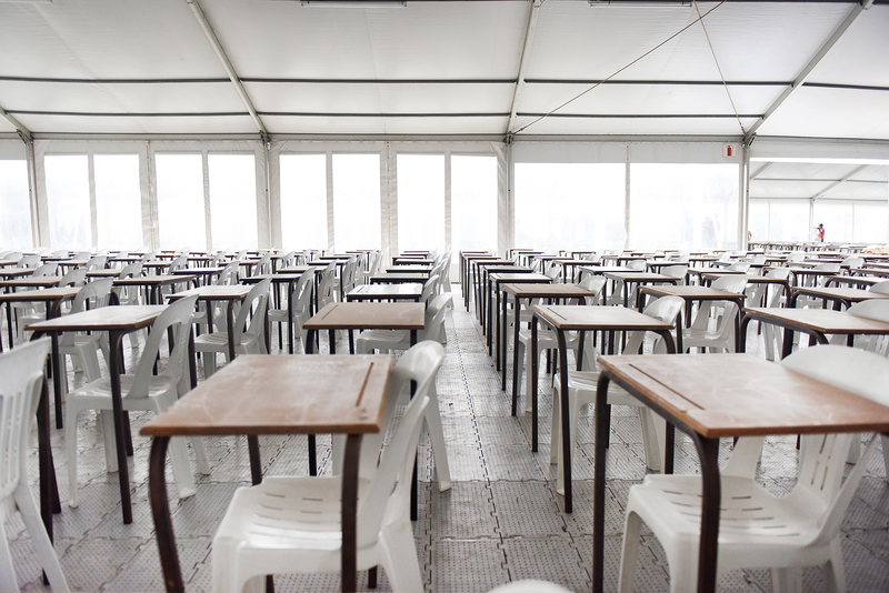 The exam centre is set to host the first set of exams on Wednesday, 15 November, when UCT's exam season gets underway.