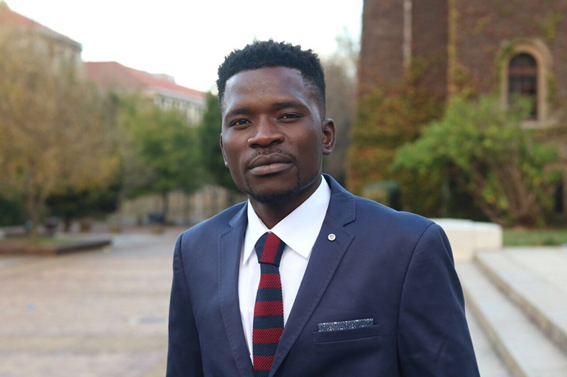 Candidate engineer Matimba Mabonda struggled with mental health during his time at UCT. He urges students to follow his example and to seek help when they are struggling.