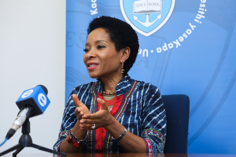 """I am particularly humbled by the overwhelming support that I have received within the university community"" – Prof Mamokgethi Phakeng on her appointment as UCT's new VC."