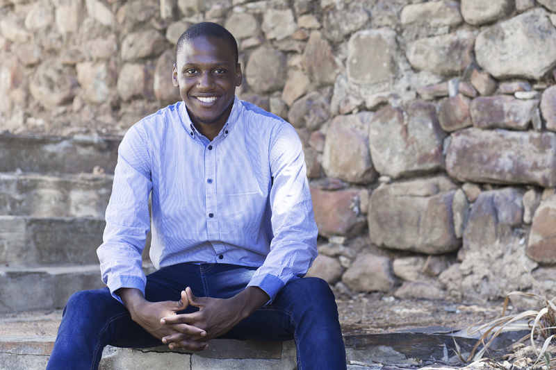 """For me it is all about pushing myself and one day I will make a success of myself,"" says Sipho Mbadaliga in the run-up to his graduation in April."