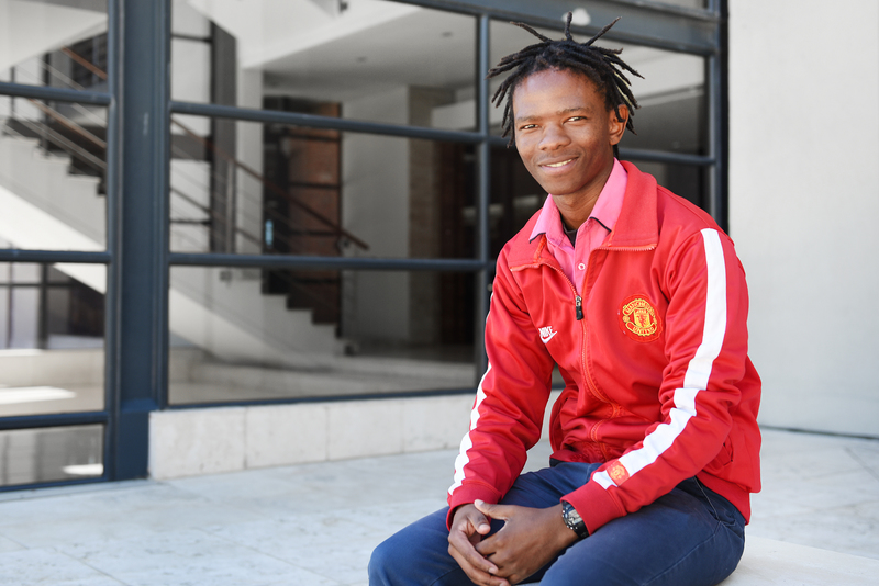 Lwandile Mapuza is due to graduate from UCT for the second time in April. His journey to graduation has not been easy, and he attributes his success to his mother.