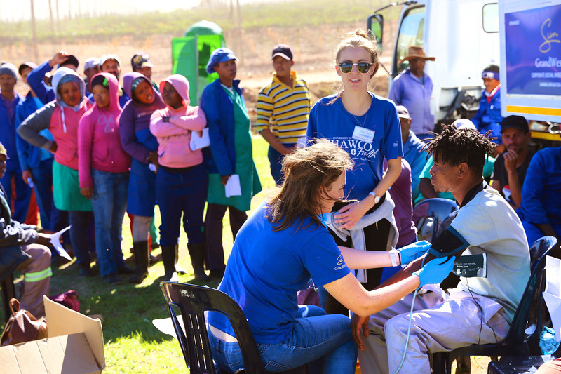 Eye-opener: To celebrate their 75th anniversary, SHAWCO launched a 750 km journey to provide health services to four rural communities in May.