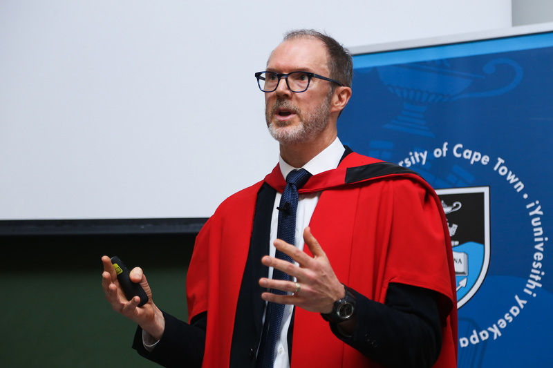 During his Vice-Chancellor's Inaugural Lecture, Prof Crick Lund called for investment in population mental health in low- and middle-income countries.