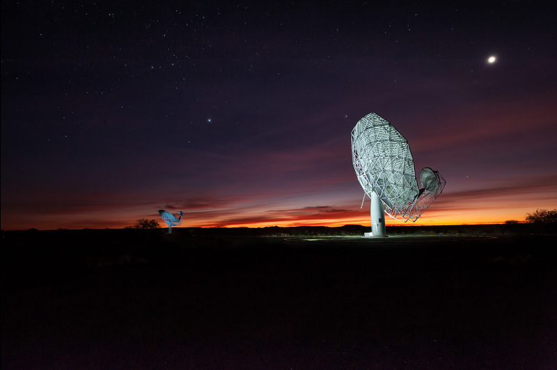 The MeerKAT radio telescope, which will operate from the Northern Cape, is South Africa's precursor to SKA.