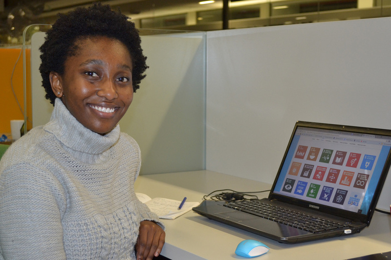 Master's student Boipelo Madonsela won the award for Most Promising Research at the recent Water Institute of Southern Africa (WISA 2018) conference in Cape Town.
