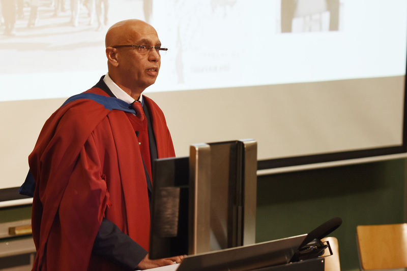 In his inaugural lecture Prof Shahid Vawda called for a focus on a research agenda reflecting key ideas in the work of Archie Mafeje.