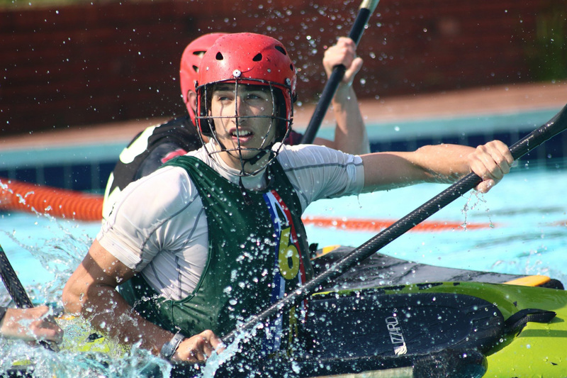 UCT Canoe Club member and business science student Tristan Drummond combines his love of kayaking and team sports in canoe polo.