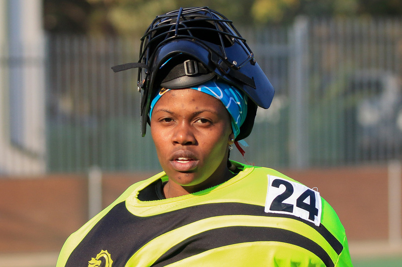 UCT&rsquo;s first-team hockey goalkeeper Nepo Serage elicits praise from sports administrators for her actions on and off the field. <b>Photo</b> Arnold Dippenaar Photography.