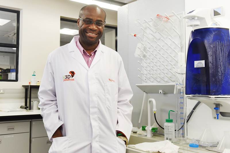 Prof Kelly Chibale, whose Drug Discovery and Development Centre (H3D) at UCT pioneers world-class drug discovery in Africa and who has also become known for his pivotal work on malaria, is a new Member of ASSAf. <b>Photo</b> Robyn Walker.