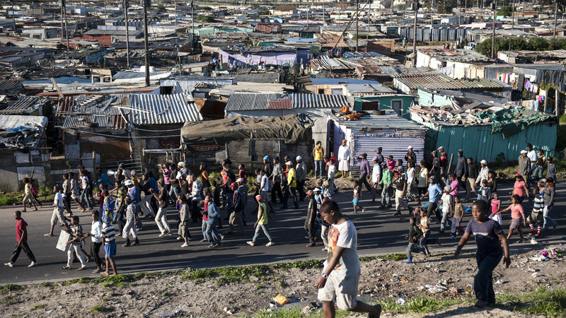 Ward councillors need to hear what residents in their wards require, and relay the information to the municipal council to prevent service delivery protests such as this one, in the Sweet Home Farm section of Phillipi, Cape Town. <b>Photo</b>&nbsp;David Harrison/M&amp;G.