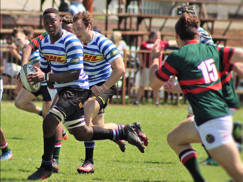 Nama Xaba doing what he does best on the rugby field. At the time of publication, UCT&nbsp;RFC reported that the unbeaten WP&nbsp;U21 team will compete in the SA&nbsp;Rugby Championship semi-final on 20&nbsp;October at Newlands. <b>Picture</b>&nbsp;Supplied.