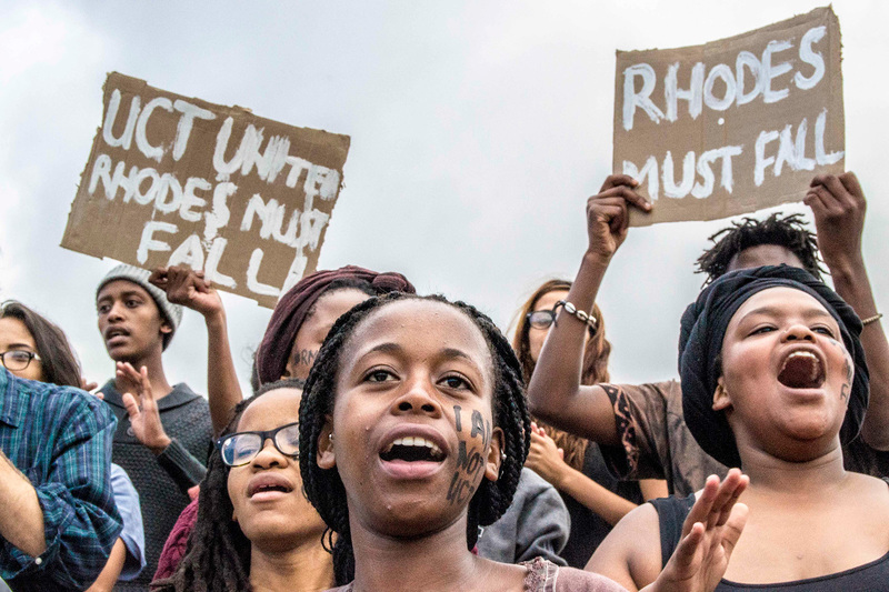Curriculum issues came to the fore during a series of nationwide protests between 2015 and 2017, with students arguing that what's being taught in university courses is imported from the global north and doesn't draw enough on African-based research and the work of academics from the global south.