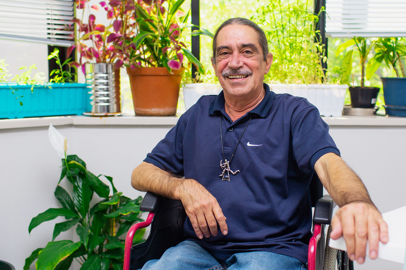 Daniel Franco is one of 10 staff celebrating 35 years' service with UCT this year. <b>Photo</b> Je'nine May.