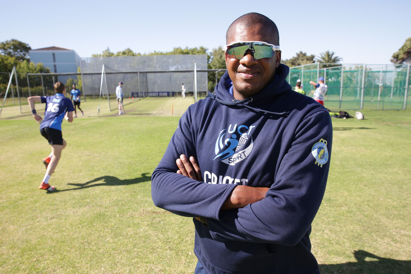 New UCT cricket coach Eugene Moleon. Moleon played 49 first-class and 66 List A matches for the Lions, North West and Western Province, and is now also involved in coaching women's cricket.