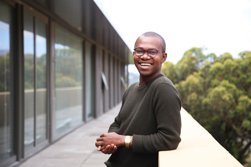 New Generation of Academics Programme (nGAP) Associate Mochelo Lefoka, who has been hailed for his open-hearted belief in the goodness of people.