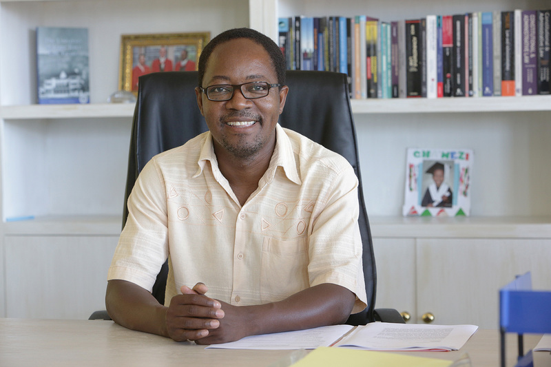 New dean of the Faculty of Law, Professor Danwood Chirwa, shares the short- and long-term goals he hopes to achieve while at the helm.