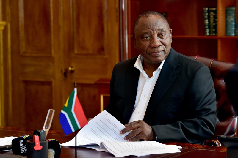 President Cyril Ramaphosa puts the final touches to his State of the Nation Address at his official residence Genadendal in Cape Town last week. He was criticised for acknowledging the recent student protests, but failing to offer the higher education sector the stabilising assurances it urgently needs.