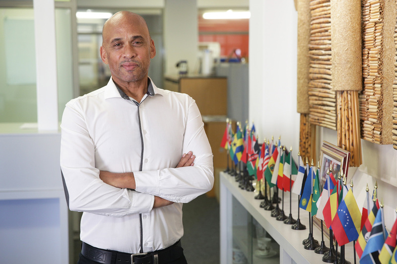 "IAPO finance officer Leon Petersen believes that ""being the brand"" is reflected in the care and support he shares with UCT's international students."