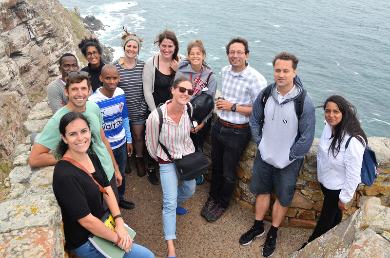 The UCT climate change master's class of 2017 out on a field trip. <b>Photo</b>&nbsp;ACDI.