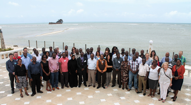 Consortium members from seven southern African universities gather in Dar es Salaam to develop the master's curriculum.