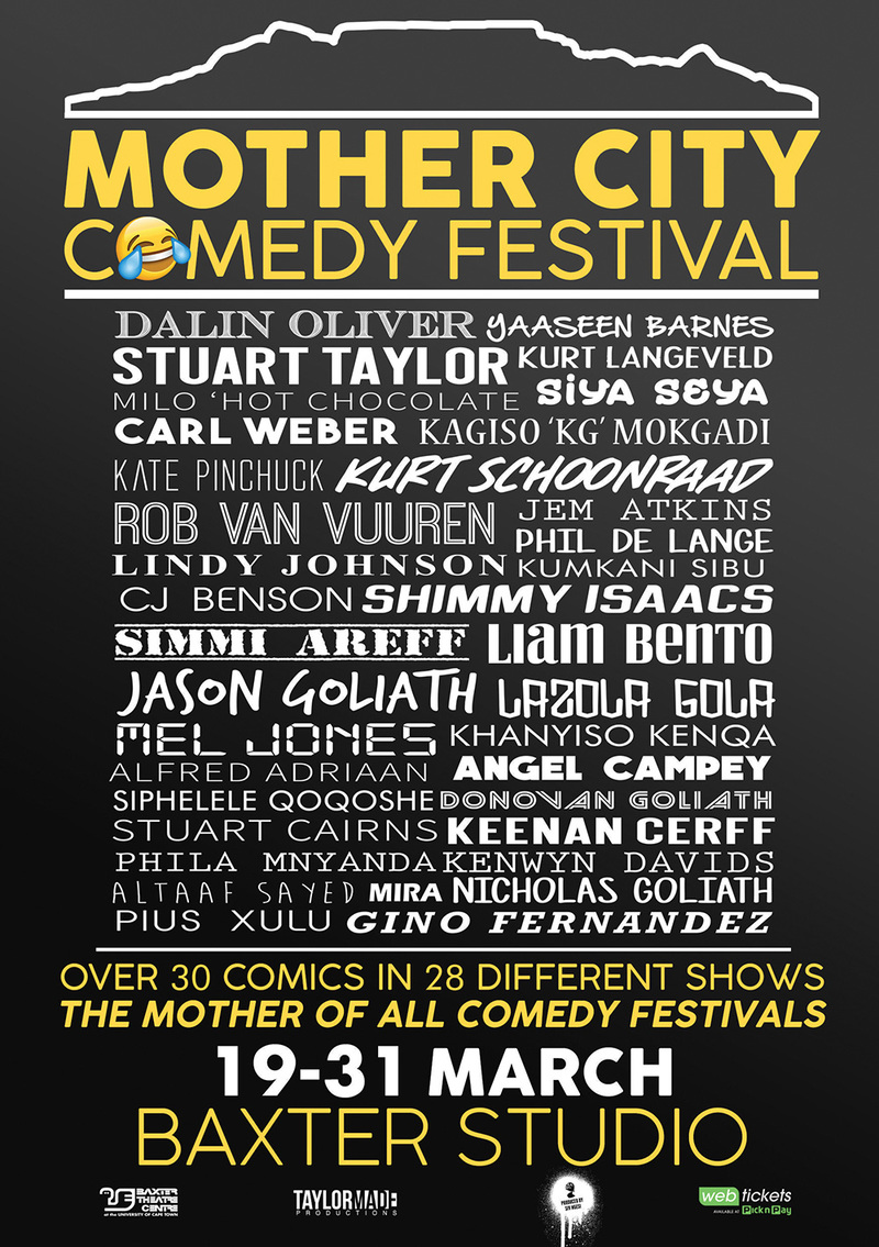 Mother City Comedy Festival   UCT News