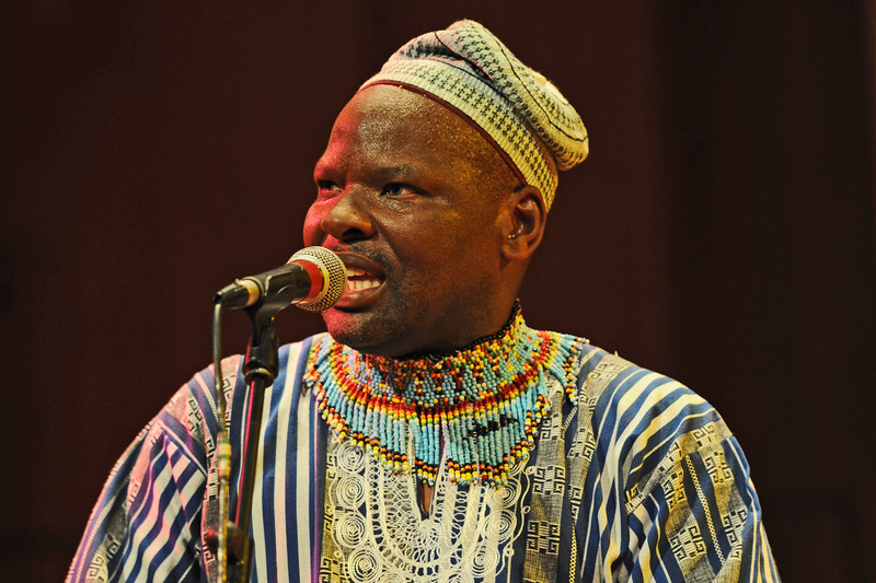 Dizu Plaatjies, head of African Music: Practical Studies at UCT's South African College of Music, won the Lifetime Achievement – Heritage Presentation Award at the Cultural Affairs Awards on 9 March.