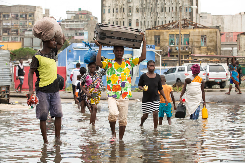 The aftermath of Cyclone Idai in Mozambique. The cyclone claimed thousands of lives and impacted more than 7 million people in three sub-Saharan Africa countries.