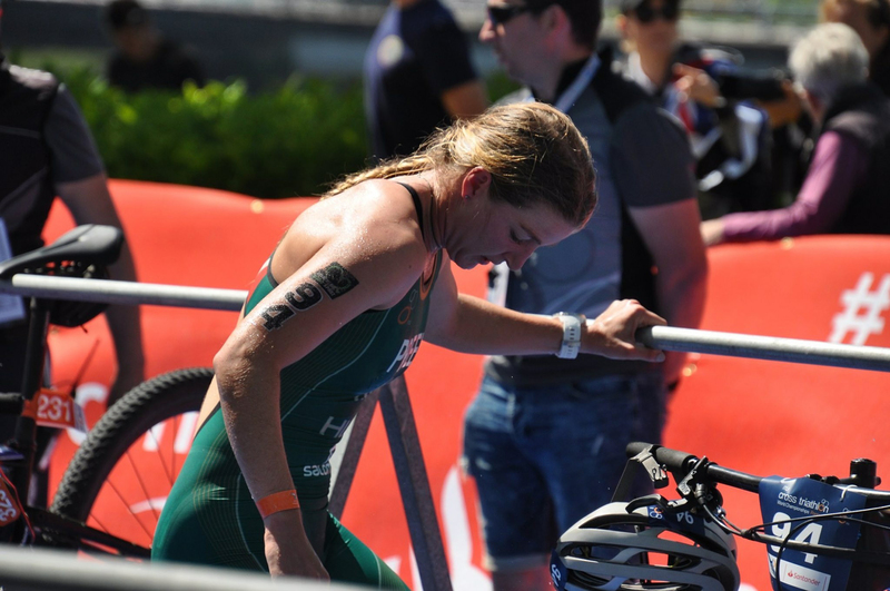 UCT's Hayley Preen represents South Africa in the green trisuit at the International Triathlon Union (ITU) Cross Triathlon World Championships in Spain this week, where she took 5th place in the women's U23 event.