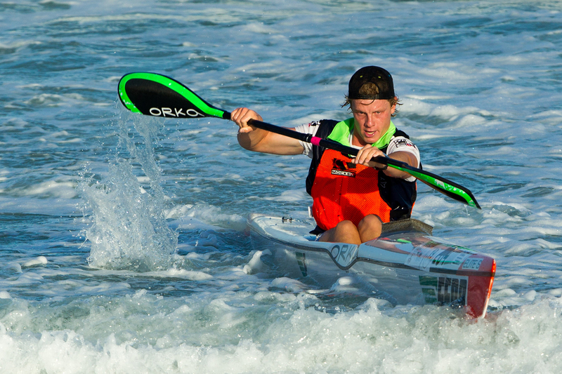 UCT's Mark Keeling in action. He will represent South Africa at the 2019 International Canoe Federation (ICF) Canoe Ocean Racing World Championships in France in September.