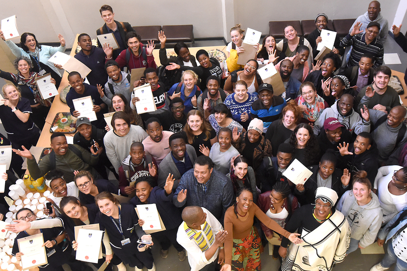 isiXhosa and Afrikaans short course graduates received their certificates at a special ceremony this week organised by UCT'S Multilingualism Education Project (MEP).