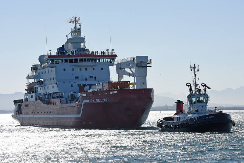 The immersive 11-day programme at sea aboard the SA Agulhas II sees students engage in a busy schedule of lectures and work on deck and in laboratories as the ship travels from Cape Town to the heart of the Agulhas current, before returning to port on 11 July.
