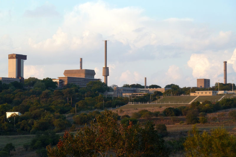 The author says the Pelindaba nuclear research facility is too elderly to have a bright future, and that there's no money to replace it.