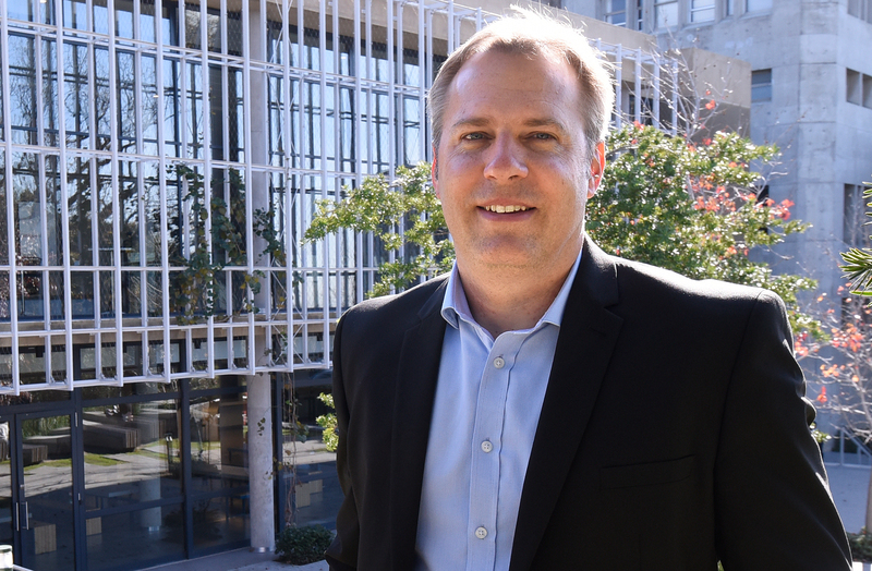 Engineering alumnus Manfred Braune was appointed director of environmental sustainability on 1 April 2019, a new post at UCT. He is based in the Office of the Vice-Chancellor.