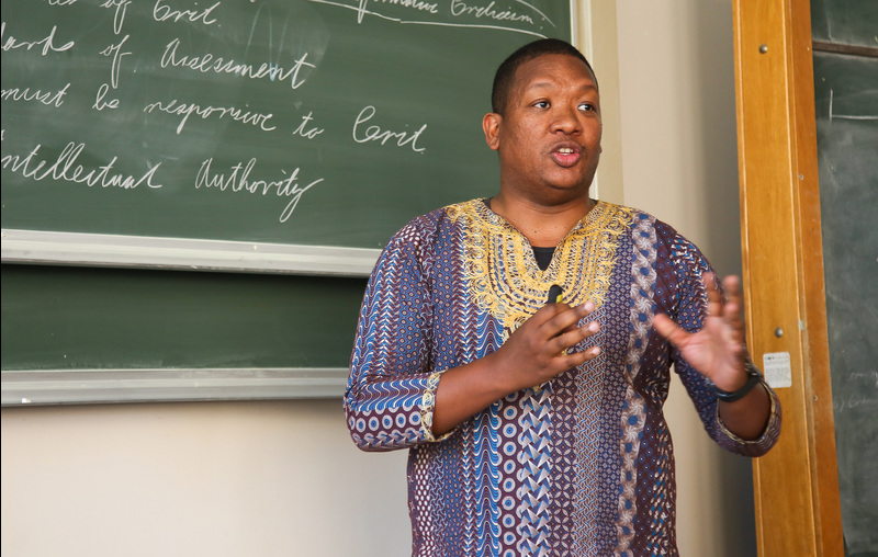UCT senior marketing and stakeholder relations manager Aloy Gowne offers tips to the university's event management students.