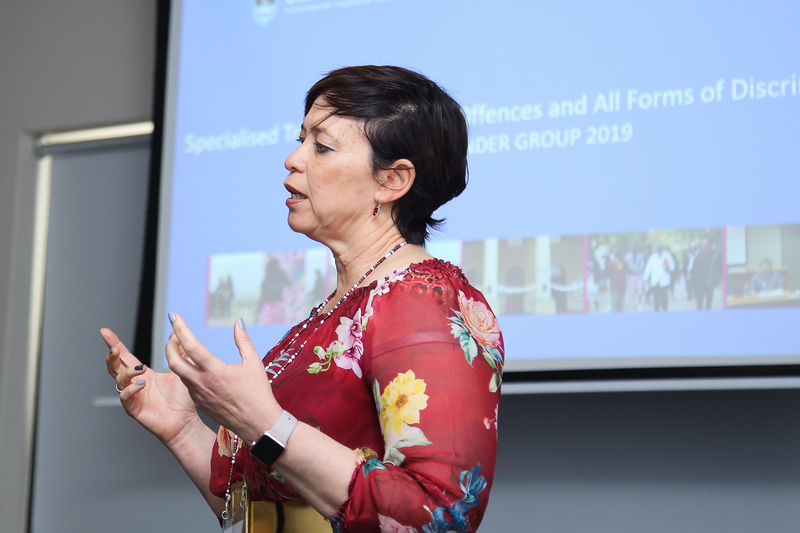 DVC for transformation Prof Loretta Feris, the programme director at the two-day meeting, discusses the concept of a specialised sexual offences tribunal for UCT.