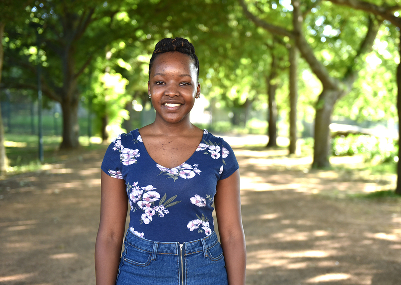 Hlumelo Marepula has dedicated over 60 hours to helping build an inclusive UCT.