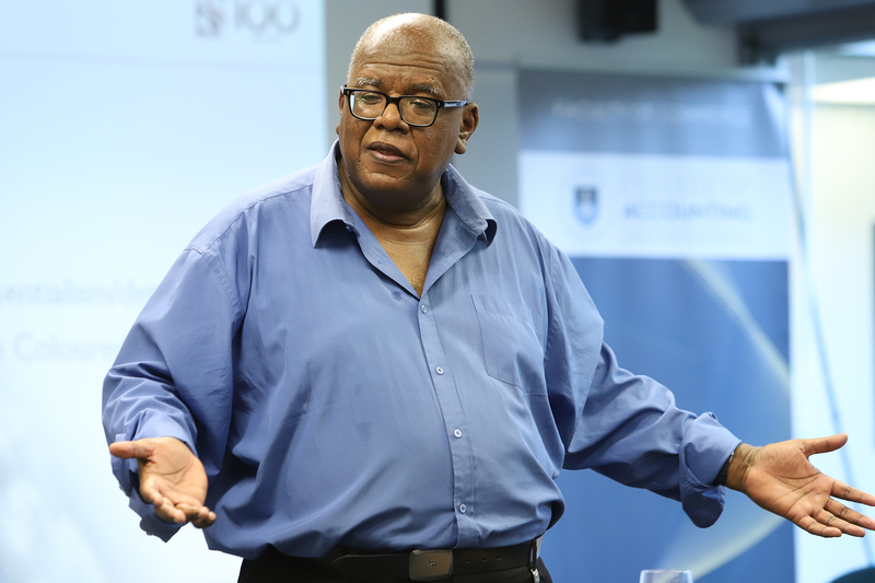"Prof Jonathan Jansen described the seven challenges he believes will negatively impact the ""future of the academy""."