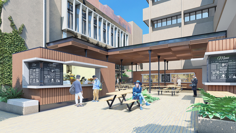 An artist's impression of the Chris Hani redevelopment work.