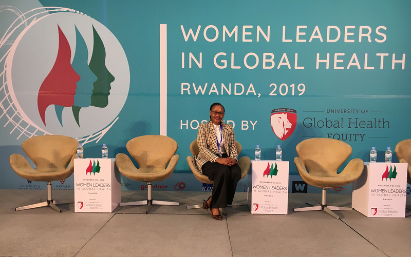 Silindile Ngcobo at the 2019 Women Leaders in Global Health Conference in Kigali, Rwanda.