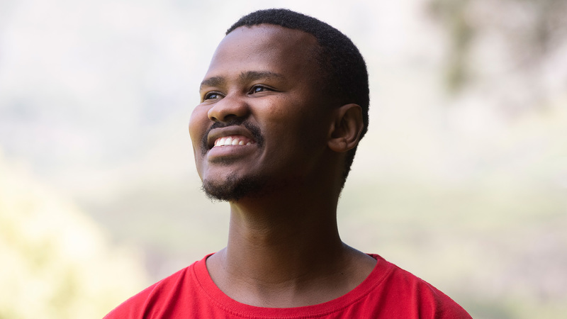 UCT&rsquo;s new SRC president Akha Tutu says it&rsquo;s important for young people to be active in politics as it affects every aspect of their lives. <b>Photo</b> Brenton Geach.