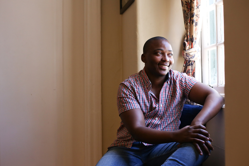 PhD graduand Velile Vilane came into being in the second year of his doctoral journey at UCT.