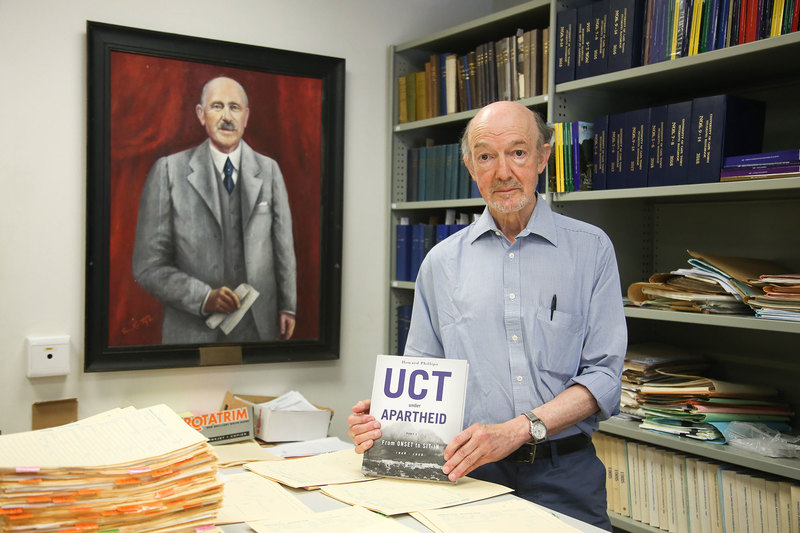 "Emer Prof Howard Phillips said his latest book, ""UCT Under Apartheid"", seeks to provide a series of important perspectives on UCT between the period 1948 and 1968."