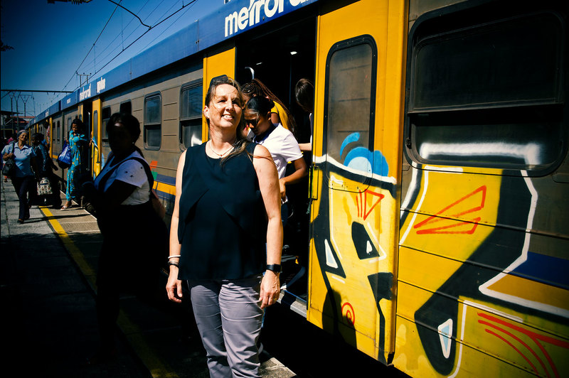 Transport engineer Prof Marianne Vanderschuren's award-winning paper calls for more gender-sensitive transport networks and services. <b>Photo</b> Lerato Maduna.