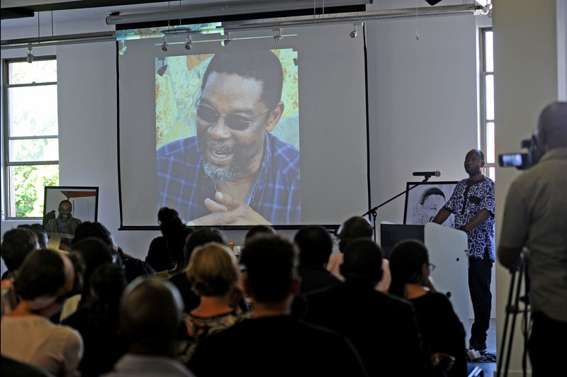 The memorial and celebration of the life and work of Prof Harry Garuba was jointly hosted by the Faculty of Humanities; the School of African and Gender Studies, Anthropology and Linguistics; the Centre for African Studies and the Department of English Language & Literature.