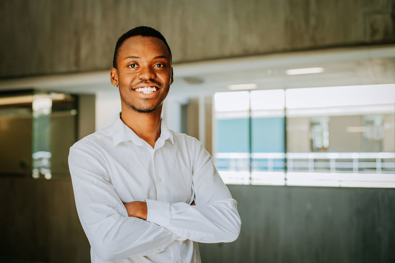 Chemical engineering graduate-in-waiting, Jabulani Nyathi says coming to UCT was not as straightforward as he thought.